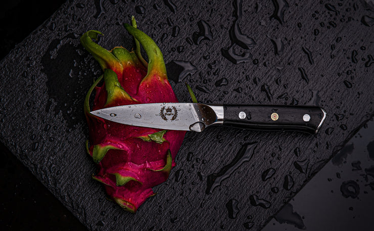 Regalia Knives™ Emperor Series 3.5 inch Paring Knife: Japanese AUS10V 67 Layers Damascus Steel