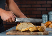 "Regalia™ Emperor Series 10"" Bread Knife- AUS10V Japanese High Carbon 67 Layers Damascus Steel"