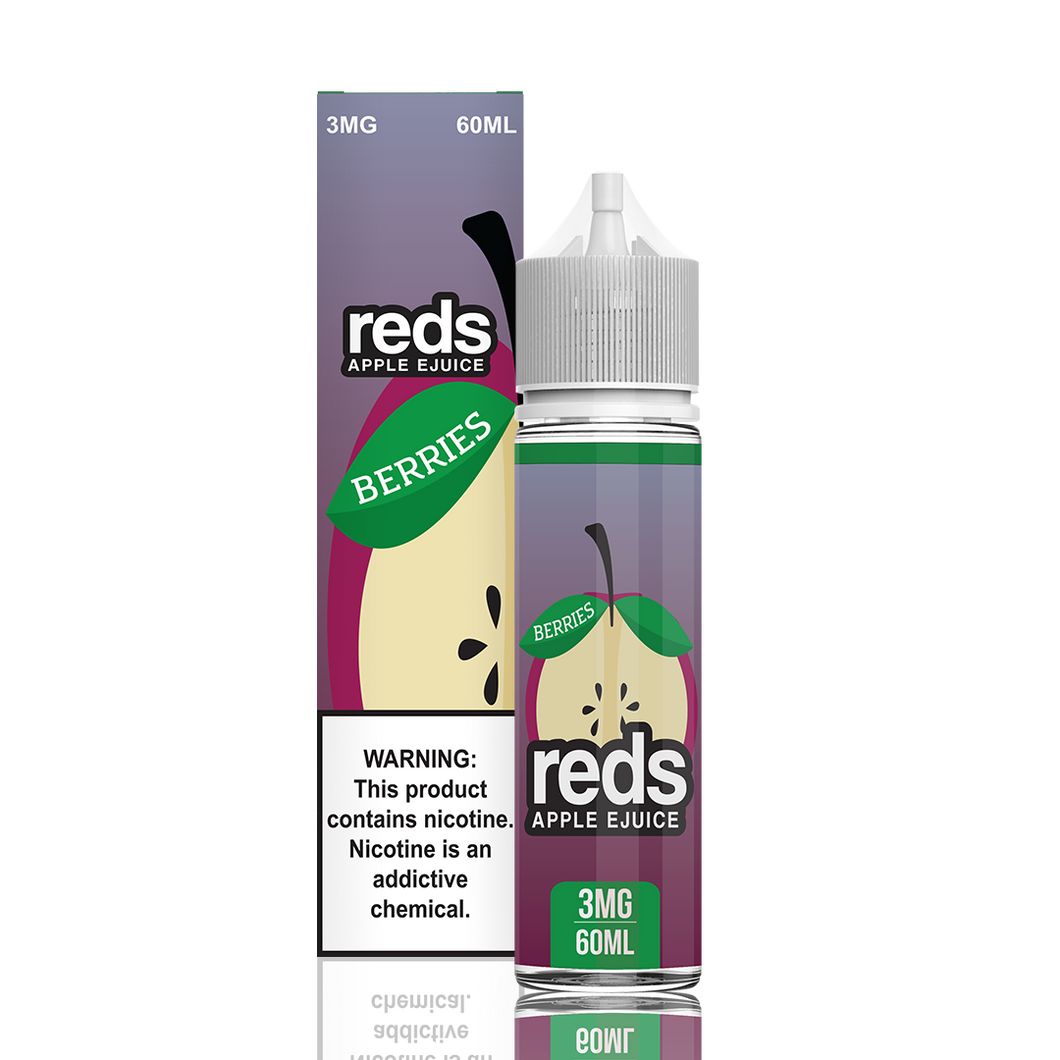Reds Apple - Reds Berries 60ml - {{ Local Vape shop Papakura }}