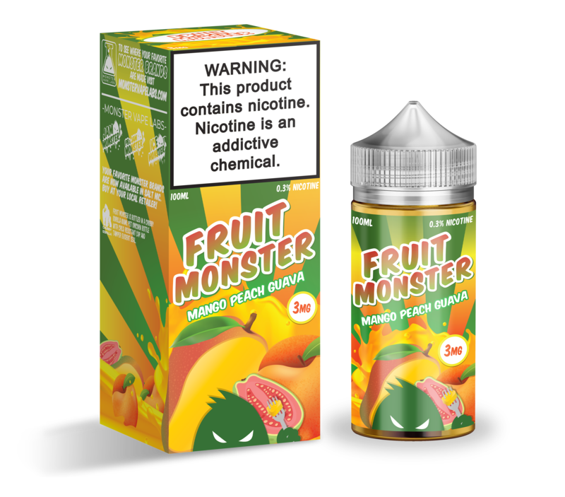 Fruit Monster - Mango Peach Guava (100ml) - {{ Local Vape shop Papakura }}