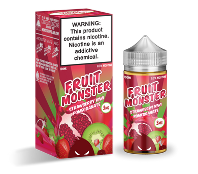Fruit Monster - Strawberry Kiwi Pomegranate (100ml) - {{ Local Vape shop Papakura }}