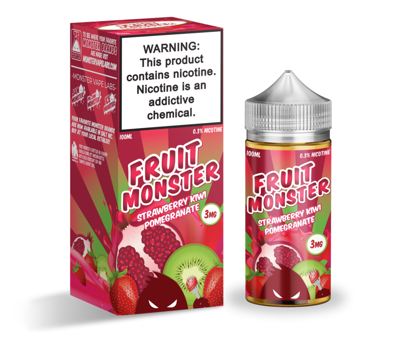 Fruit Monster - Strawberry Kiwi Pomegranate (100ml)