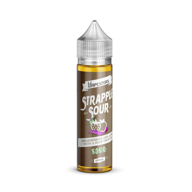 Vapesters - Strapple SOUR (60ml) - {{ Local Vape shop Papakura }}