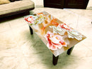 Designer Center/Coffee Table with Glass Top - FGCT-41