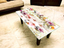 Designer Center/Coffee Table with Glass Top - FGCT-23
