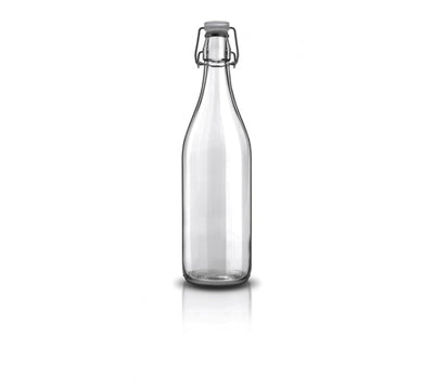 1L Glass Bottle, Lella by Brogonovo, Italy