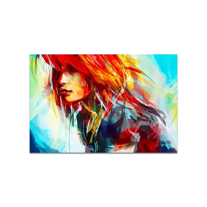 Abstract Frameless Beautiful Wall Painting for Home: Trippy Art Women