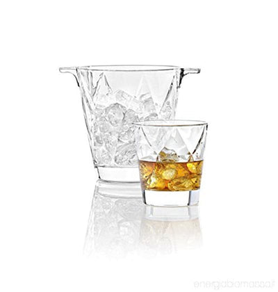 Vidivi Concerto Set Ice Bucket+Tumbler Dof (1+6) 370 ml