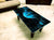 Designer Center/Coffee Table with Glass Top - FGCT-04