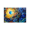 Beautiful Moon Blossom Art Wall Painting for Home