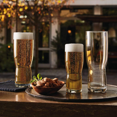 BORMIOLI ROCCO NEW PILSNER BEER GLASSES, Pack of 6-570ml