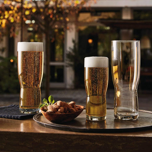 Bormioil Rocco New Pilsner Beer Glasses - Set of 6