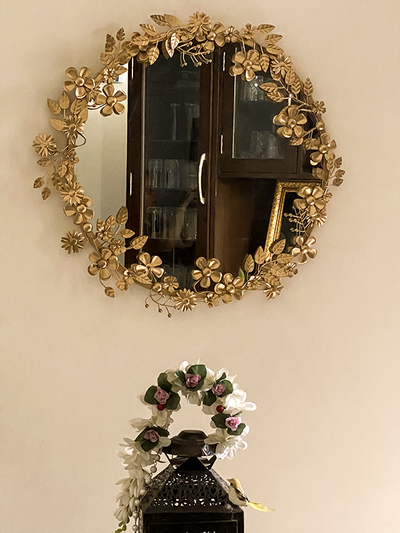 Decorative Mirror - Golden Coronet