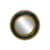 Decorative Mirror - Black Gold Bubbles Garden (Round)