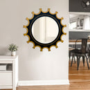 Decorative Mirror - Black Gold Flora Garden