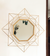 Decorative Mirror - Golden Octagonal