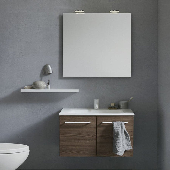 Square Mirror Frameless