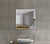 Square Bevelled Mirror Frameless (Saint-Gobain)