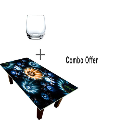 Designer Center/Coffee Table -FGCT-31 with Schott Zwiesel Fashione Banquet Glassware Collection