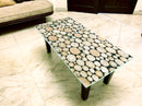 Designer Center/Coffee Table with Glass Top - FGCT-20