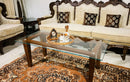 Rectangular Clear Glass Coffee table Top