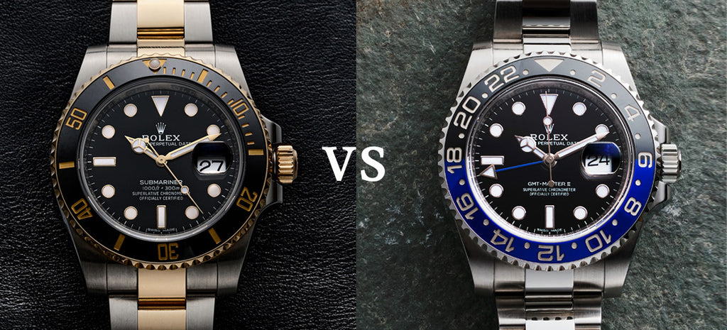 The Rolex Submariner vs. GMT-Master II: A Comparison of Two Classics