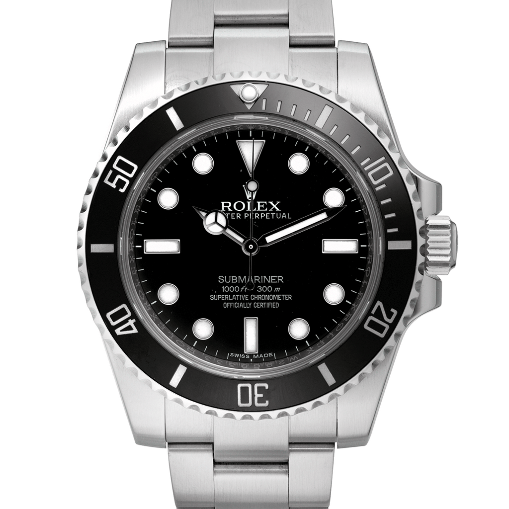 Used Rolex Submariner Black 114060LN Discontinued