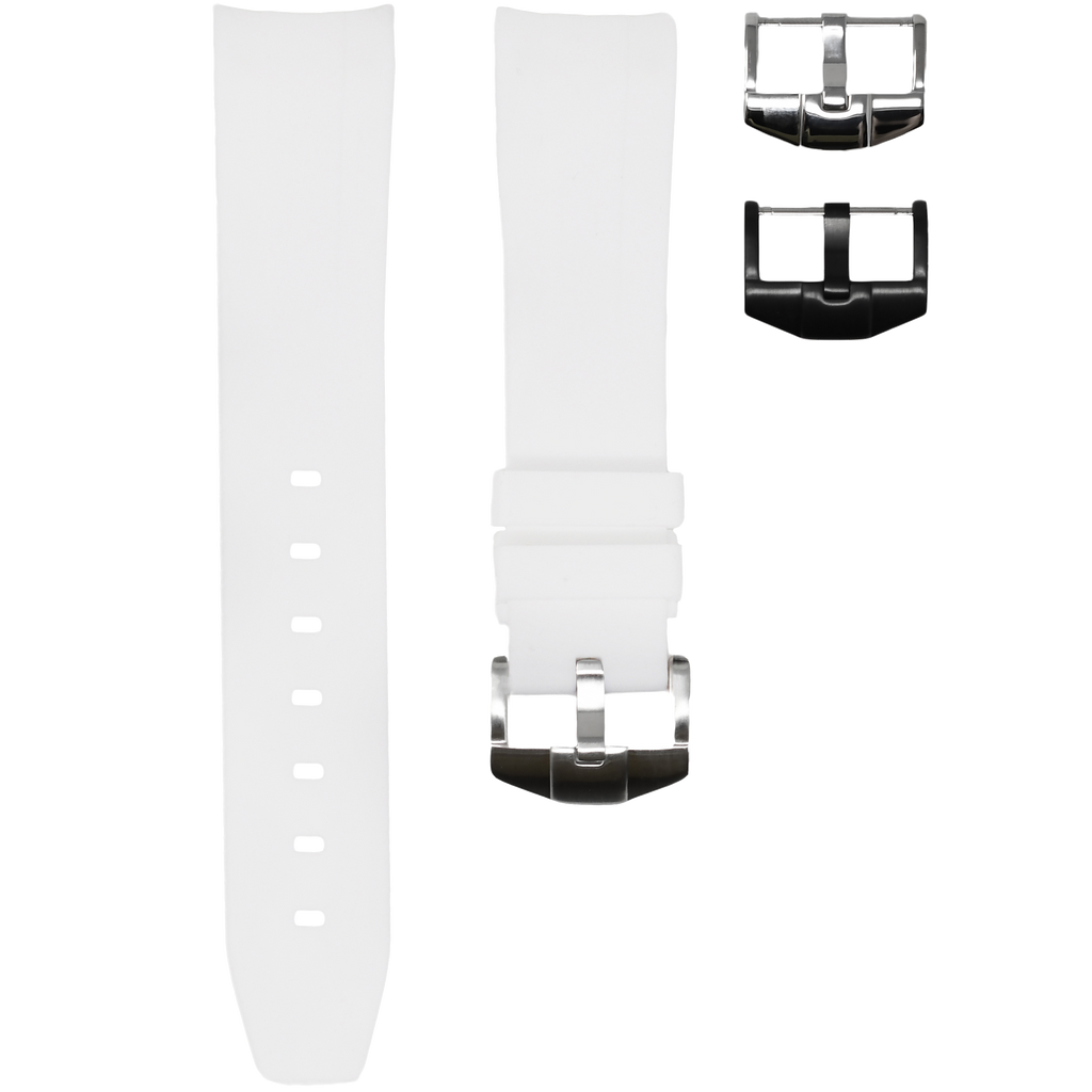 White Solid-21 MM