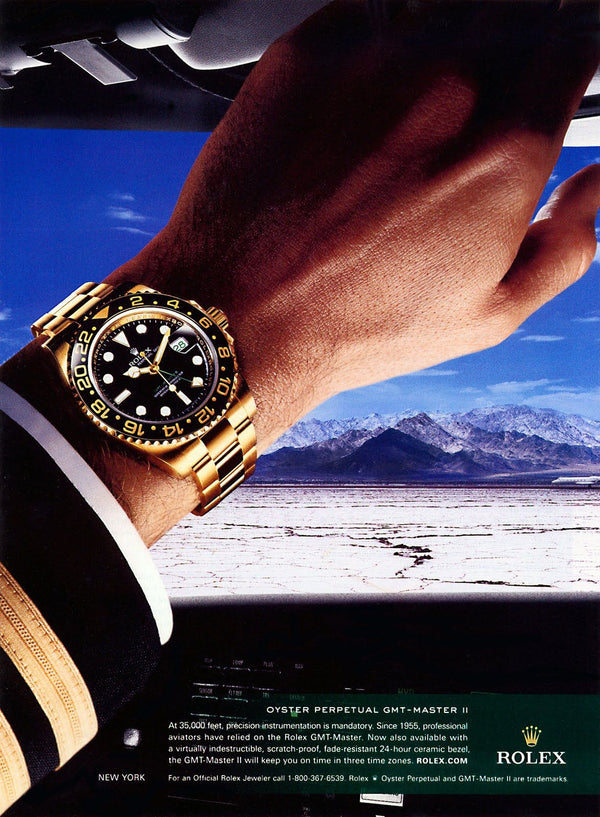 The Rolex GMT Master Through Time Zones Part 2 – Modern