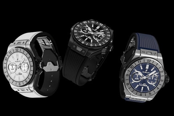 Hublot Introduces the Big Bang E Smartwatch.