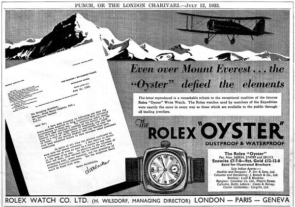 The Early History Of Rolex 1905-1950