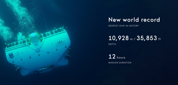 Deep Divers – A New World Record.