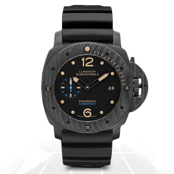 Panerai	Luminor Submersible 1950 Carbotech 3 Days Automatic	Pam00616 A.t.o Watches