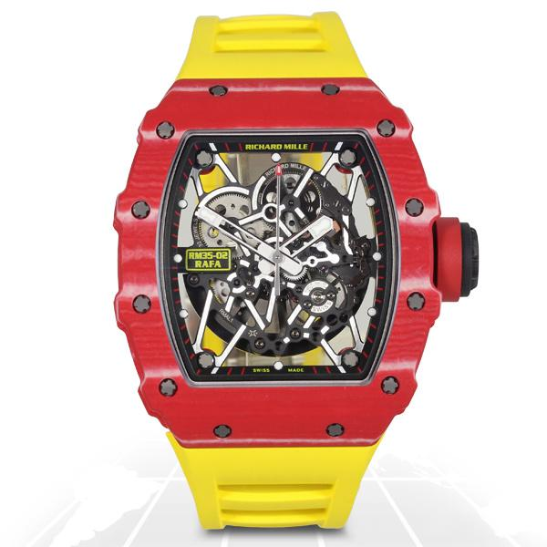 Richard Mille	Rafael Nadal Red Quartz Tpt Ntpt	Rm035-02 Ntpt A.t.o Watches