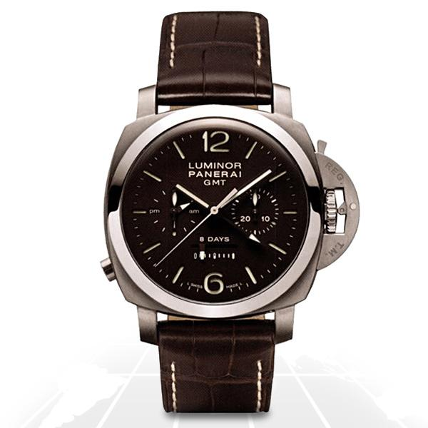 Panerai	Luminor 1950 Monopulsante 8 Days Gmt Titanio Pam003 A.t.o Watches