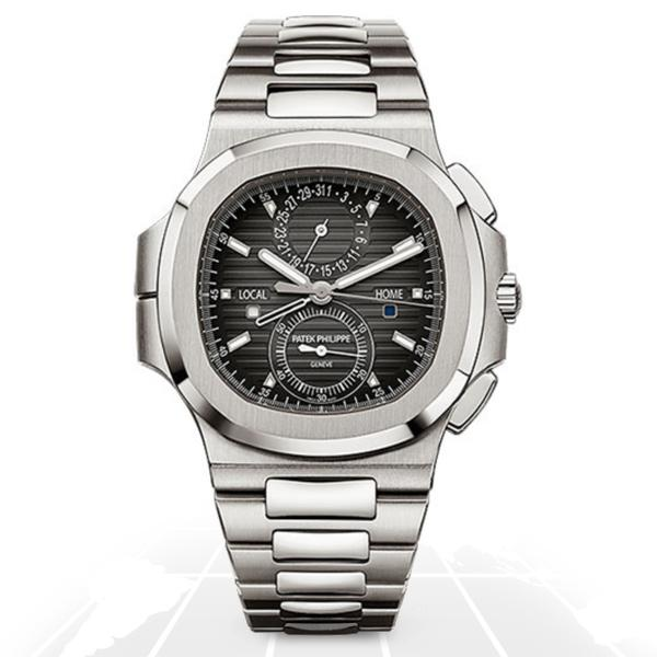 Patek Philippe Nautilus Travel Time Chronograph 5990/1A-001