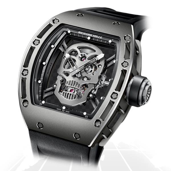 Richard Mille	Tourbillon Skull	Rm052 Ai Ti Latest Watches