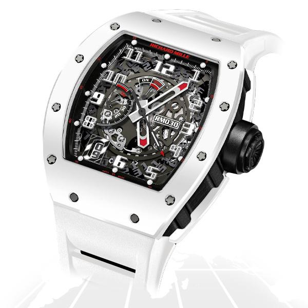 Richard Mille	Rm030 Automatic With Declutchable Rotor	Rm030 Ca Azt Latest Watches