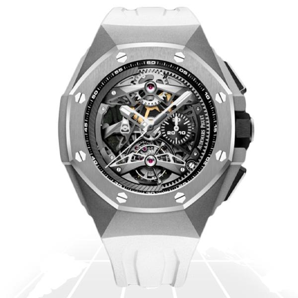 Audemars Piguet	Royal Oak Concept Tourbillon Chronograph	26587Ti.oo.d010Ca.01 Latest Watches
