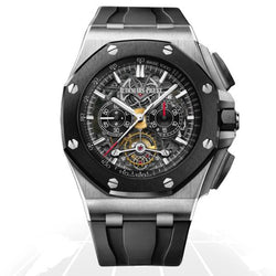 Audemars Piguet	Royal Oak Offshore Tourbillon Chronograph Openworked	26348Io.oo.a002Ca.01 Latest