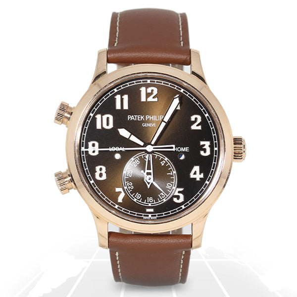 Patek Philippe	Calatrava Pilot Travel Time	5524R-001