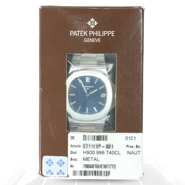 "Patek Philippe Nautilus 40th Anniversary ""Double Sealed"" 5711/1P-001"