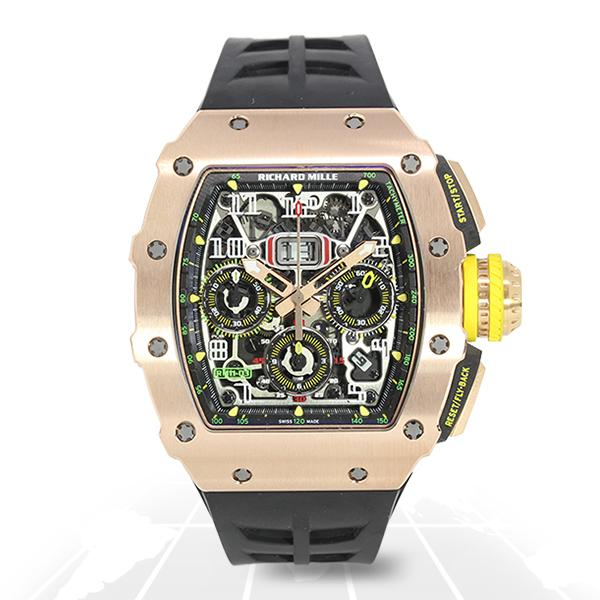 Richard Mille Rm11-03 Automatic Flyback Chronograph (Full Rose) Rg Luxury Watches