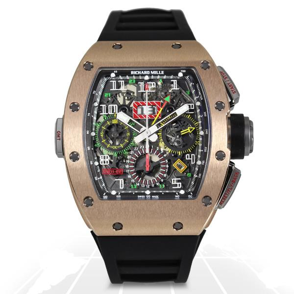 Richard Mille	Rm011 Felipe Massa Gmt Rm011-02	Rm011-02 Rg A.t.o Watches
