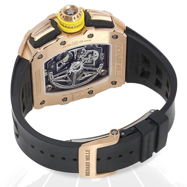 Richard Mille Automatic Flyback Chronograph (Full Rose) Rm11-03 Rg Luxury Watches