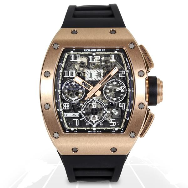 Richard Mille	Rm011 Felipe Massa Boutique Edition	Rm011 Rg Latest Watches