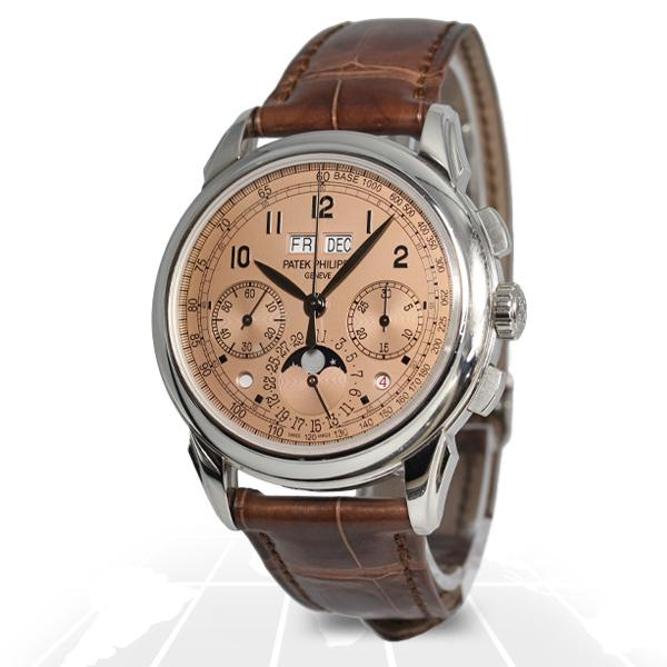 Patek Philippe Grand Complications Perpetual Calendar Chronograph 5270P-001 Latest Watches
