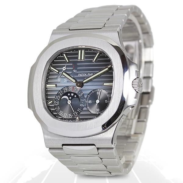 Patek Philippe	Nautilus Moon Phase	5712/1A-001 Recently Sold