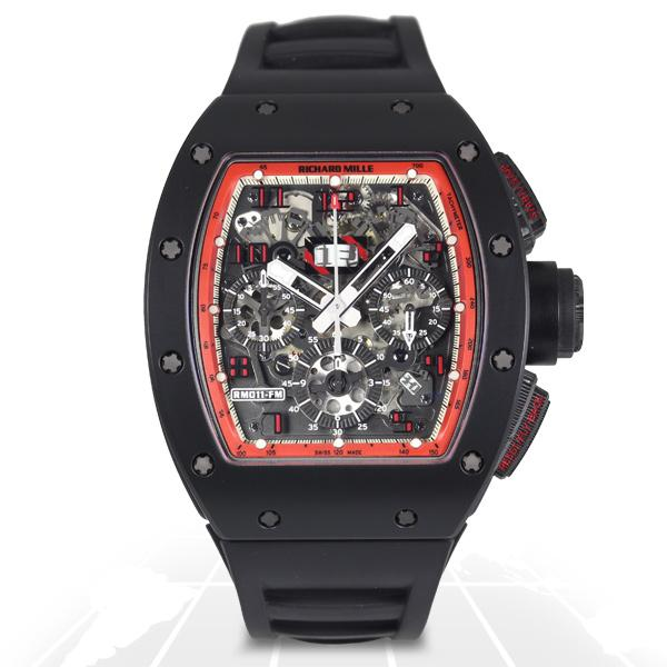 Richard Mille	Rm011 Felipe Massa Midnight Fire	Rm011 Ca Tzp A.t.o Watches