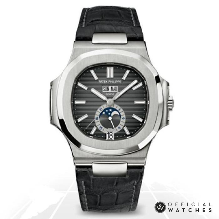 Patek Philippe Nautilus Annual Calendar Moonphase 5726A-001 Latest Watches